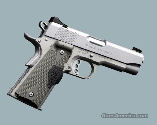 Stainless Pro Carry II with laser grips  Guns > Pistols > Kimber of America Pistols