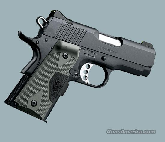 ULTRA CARRY II NIGHT SIGHTS/LASER GRIPS  Guns > Pistols > Kimber of America Pistols