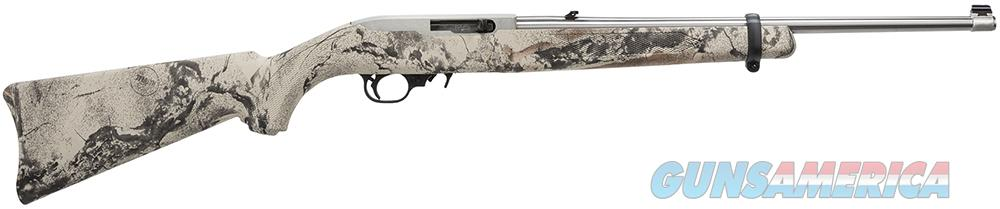10/22 NATURAL GEAR CAMO STOCK/STAINLESS BARREL, 22LR, 50TH ANNIVERSARY  Guns > Rifles > Ruger Rifles > 10-22