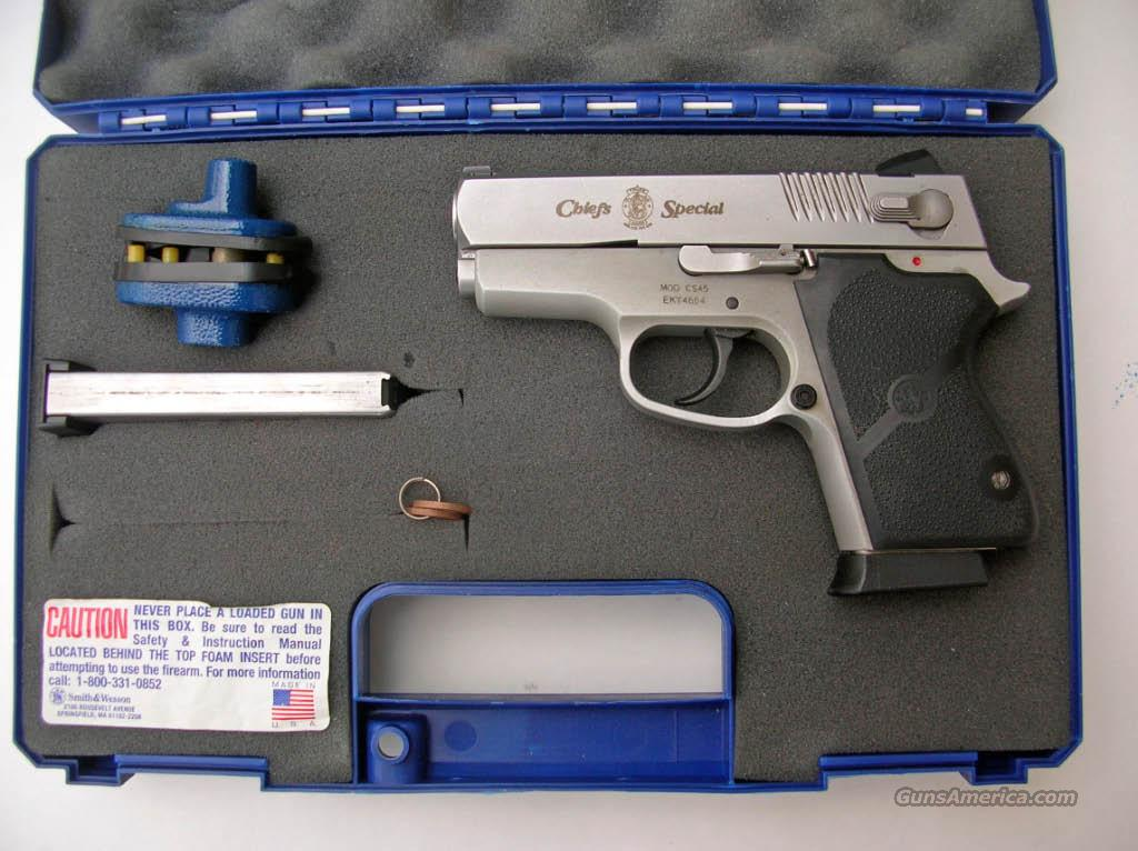 CS45 STAINLESS .45 ACP  Guns > Pistols > Smith & Wesson Pistols - Autos > Alloy Frame