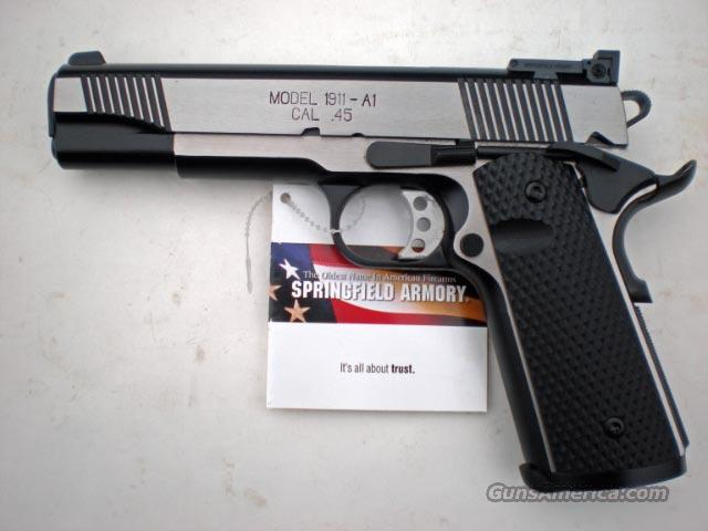 PX9152LP BLACK STAINLESS TARGET/NIGHT SIGHTS  Guns > Pistols > Springfield Armory Pistols > 1911 Type