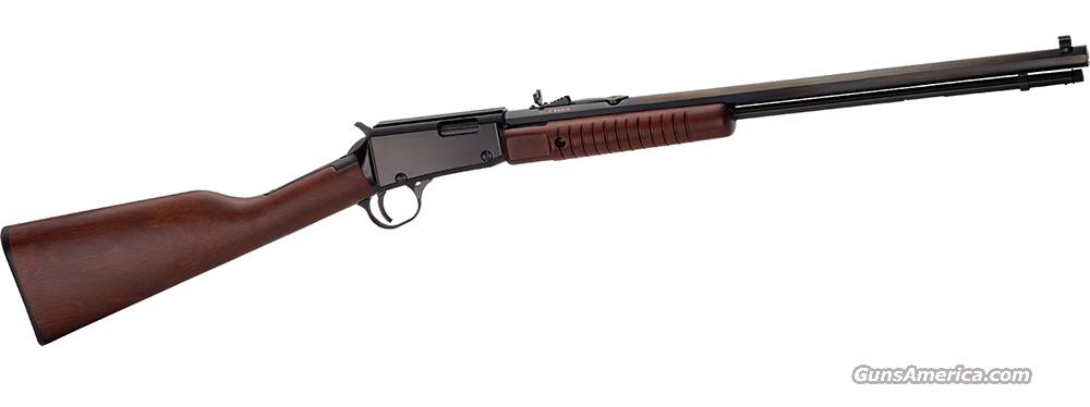 HENRY PUMP ACTION OCTAGON  .22 WIN. MAGNUM (H003TM)  Guns > Rifles > Henry Rifle Company