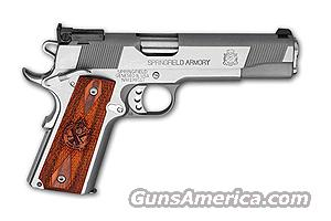 PI9134LP STAINLESS TARGET 9MM LUGER (discontinued)  Guns > Pistols > Springfield Armory Pistols > 1911 Type