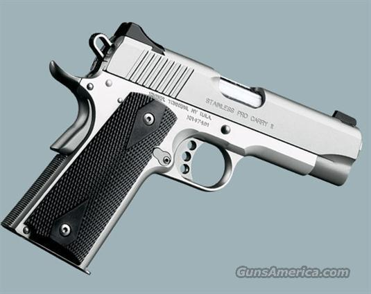 "STAINLESS PRO CARRY HD II 4"" .38 SUPER  Guns > Pistols > Kimber of America Pistols"