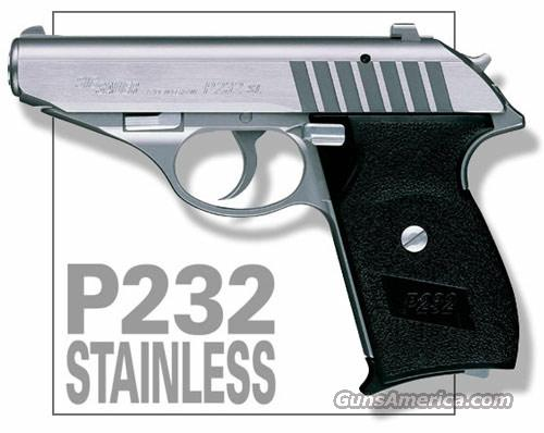P232 STAINLESS .380 ACP  Guns > Pistols > Sig - Sauer/Sigarms Pistols > Other