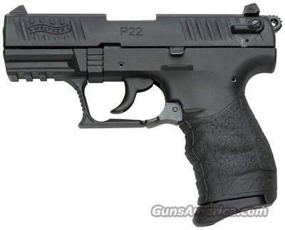 "P22 3.4"" .22 LR  Guns > Pistols > Walther Pistols > Post WWII > P22"