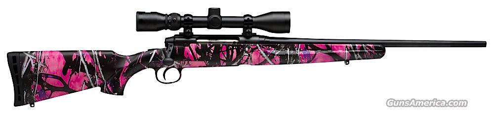 AXIS XP YOUTH MUDDY GIRL 7MM08  Guns > Rifles > Savage Rifles > Standard Bolt Action > Sporting