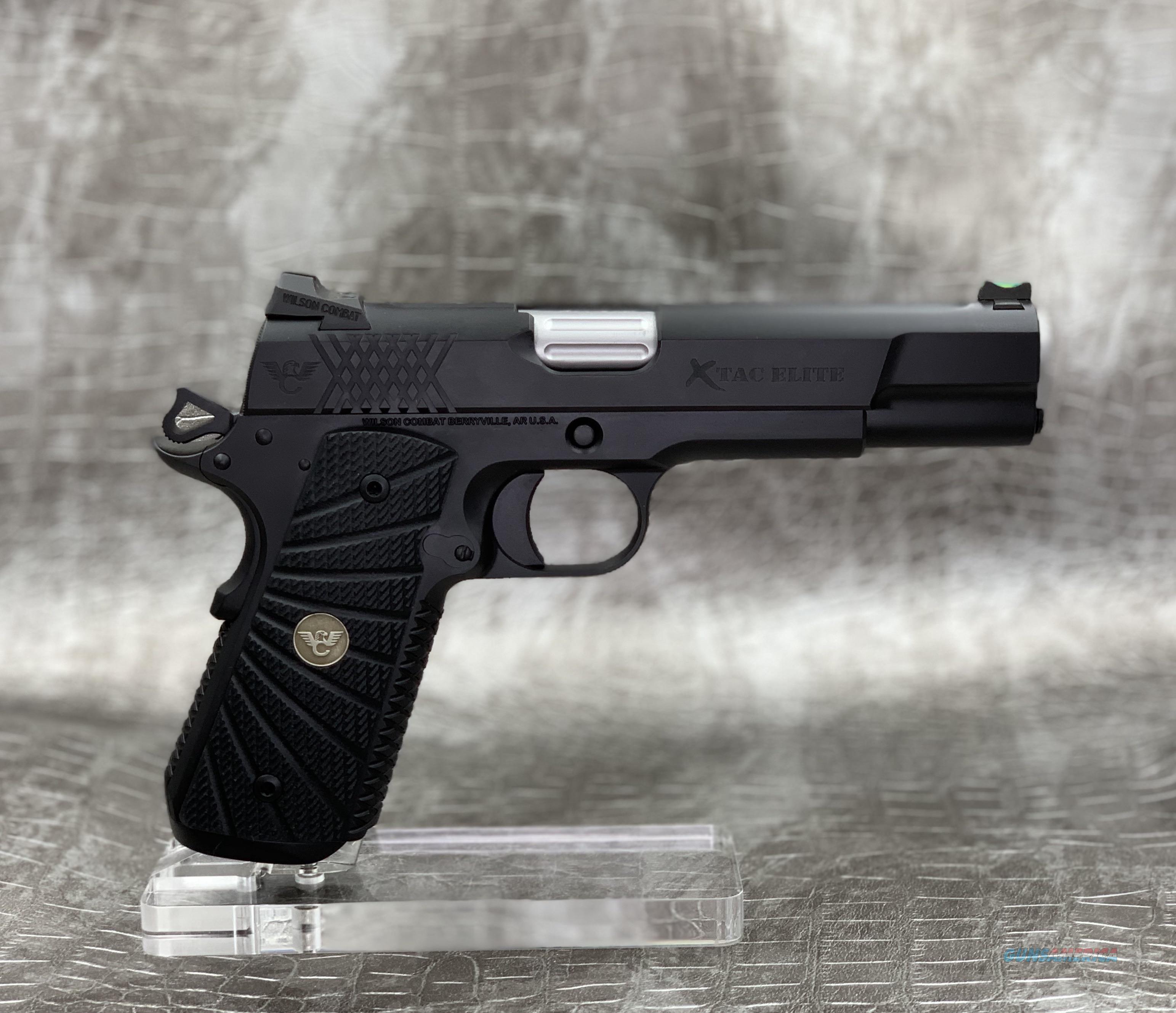 "Wilson Combat XTAC Elite 5"" .45ACP  Guns > Pistols > Wilson Combat Pistols"