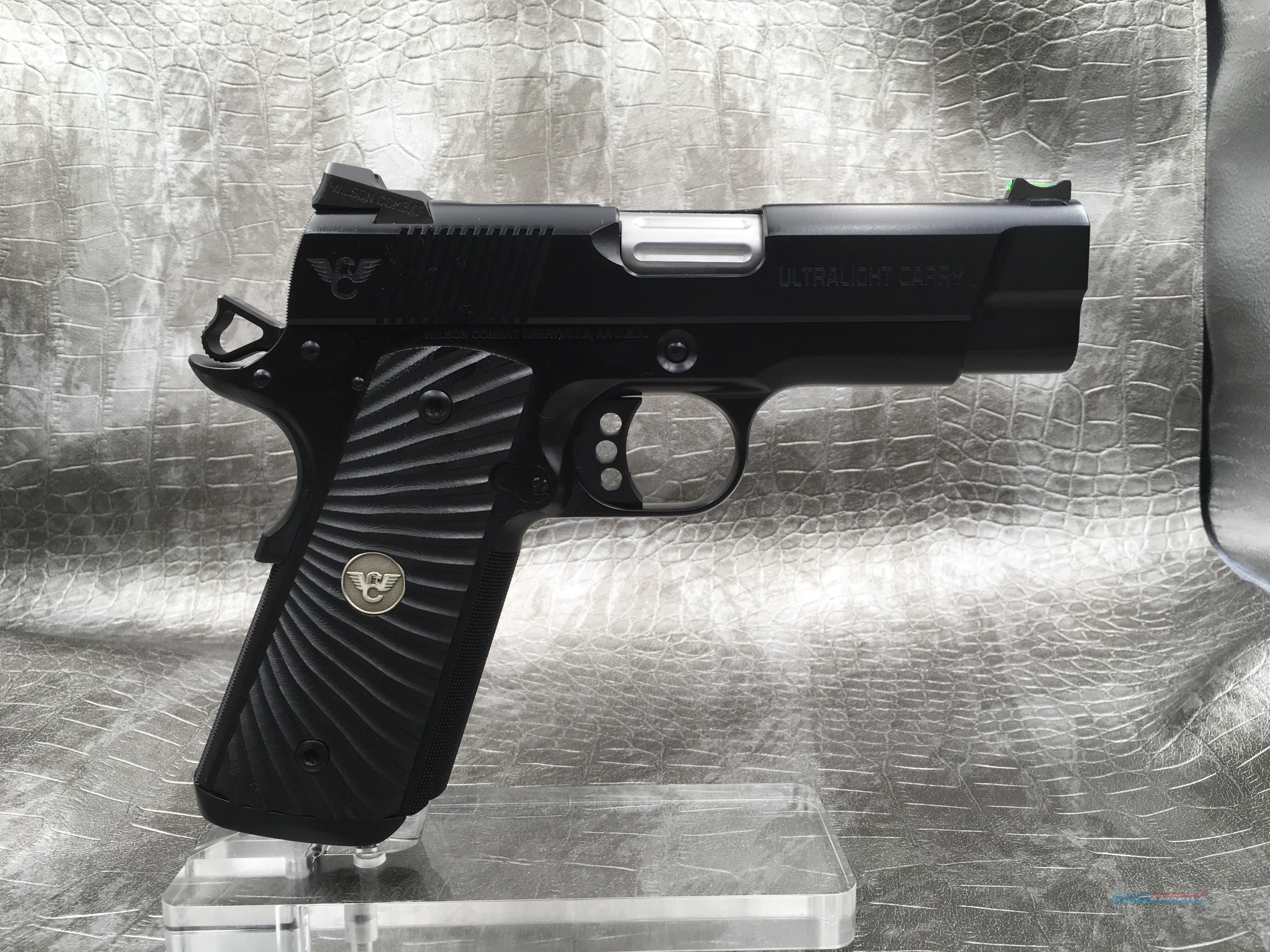 Wilson Combat Ultralight Carry Professional  Guns > Pistols > Wilson Combat Pistols