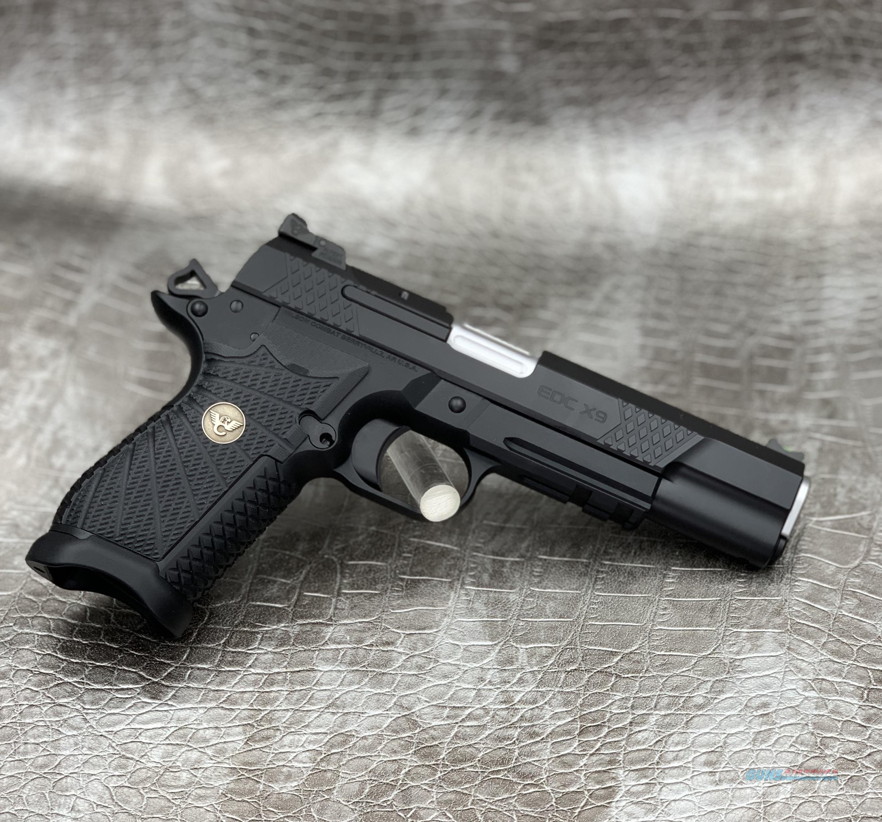 Wilson Combat EDC X9L with Light Rail & Magwell  Guns > Pistols > Wilson Combat Pistols
