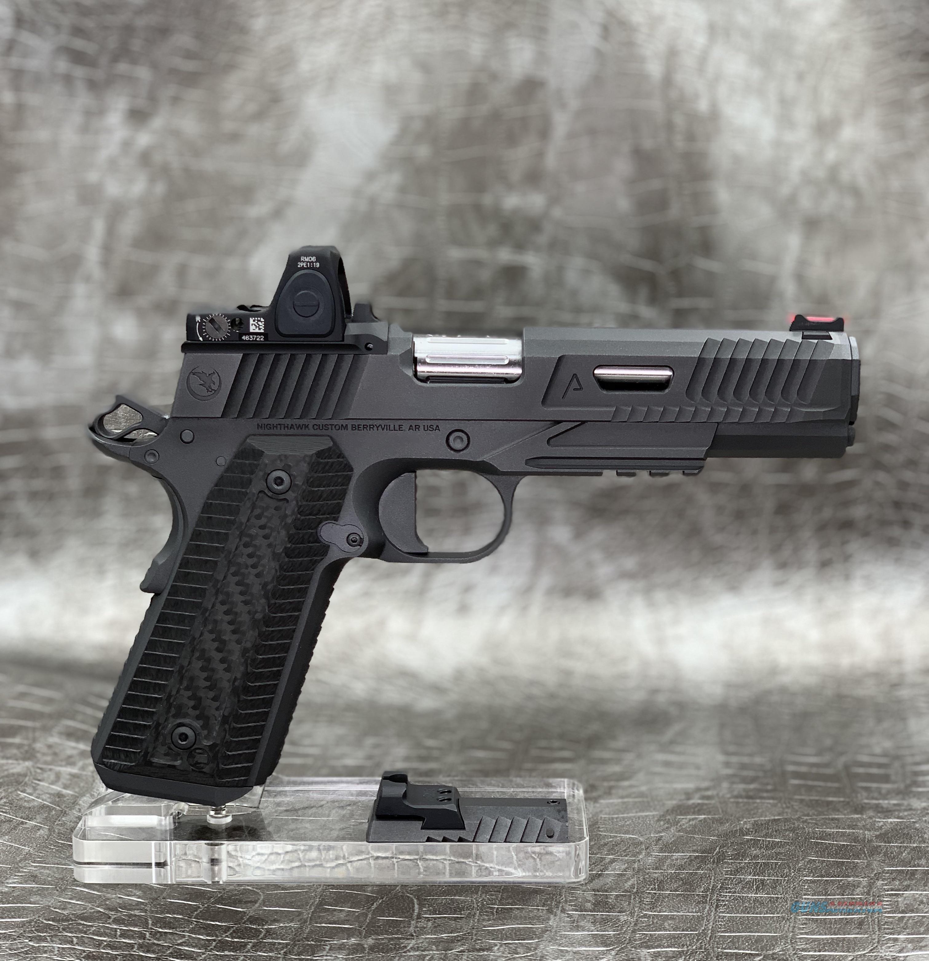 "NightHawk Custom Agent 2 Government 5"" 9MM with IOS System/Trijicon RMR  Guns > Pistols > Nighthawk Pistols"