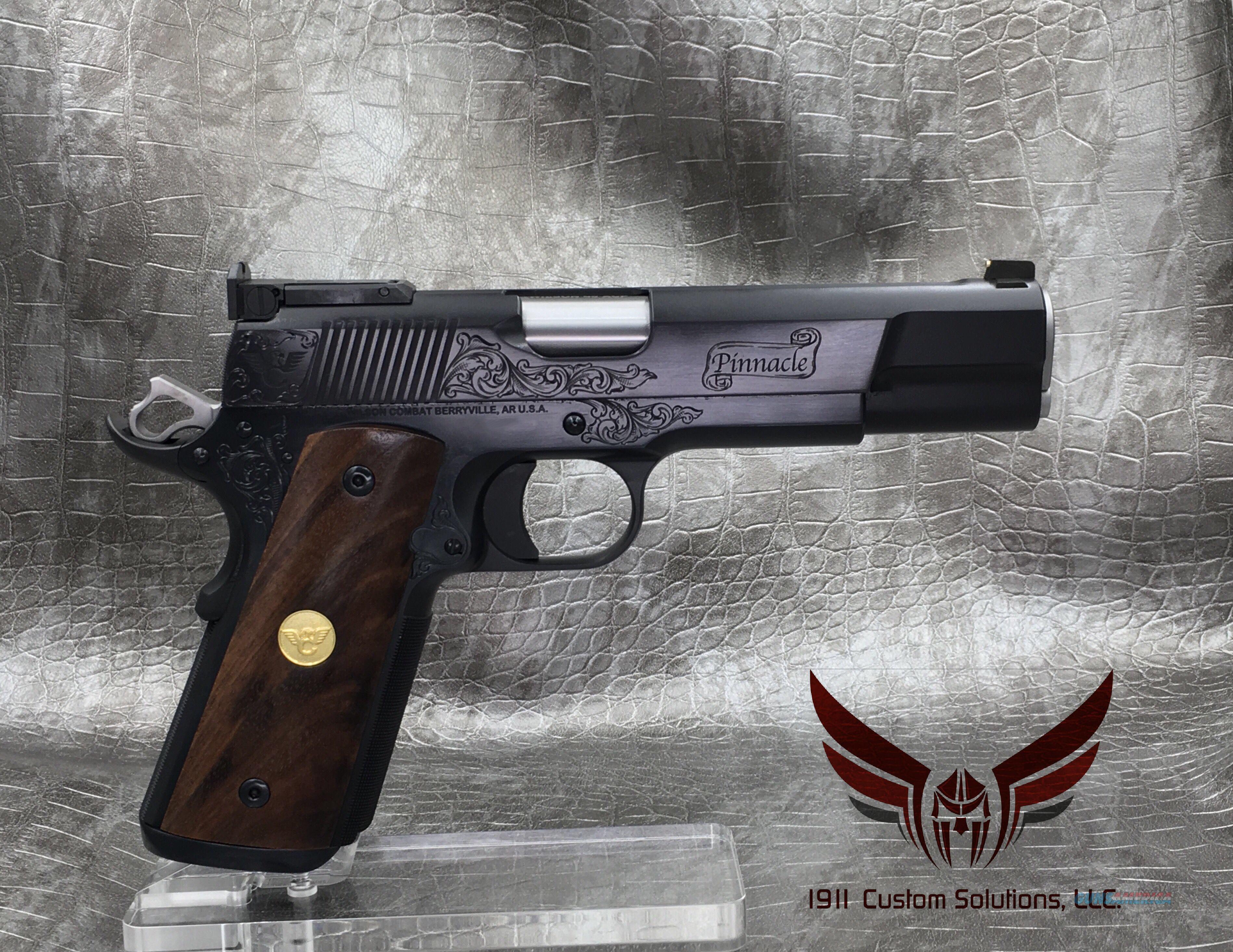 "Wilson Combat Pinnacle Supergrade 5"" - Blued Finish  Guns > Pistols > Wilson Combat Pistols"
