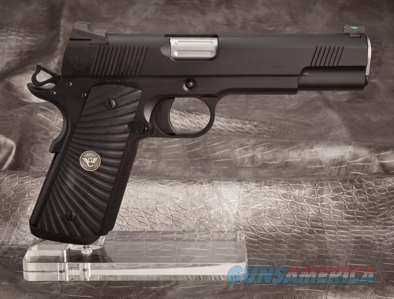 """Wilson Combat Ken Hackathorn Special 5"""" All Black w/ Armor TUFF  Guns > Pistols > Wilson Combat Pistols"""