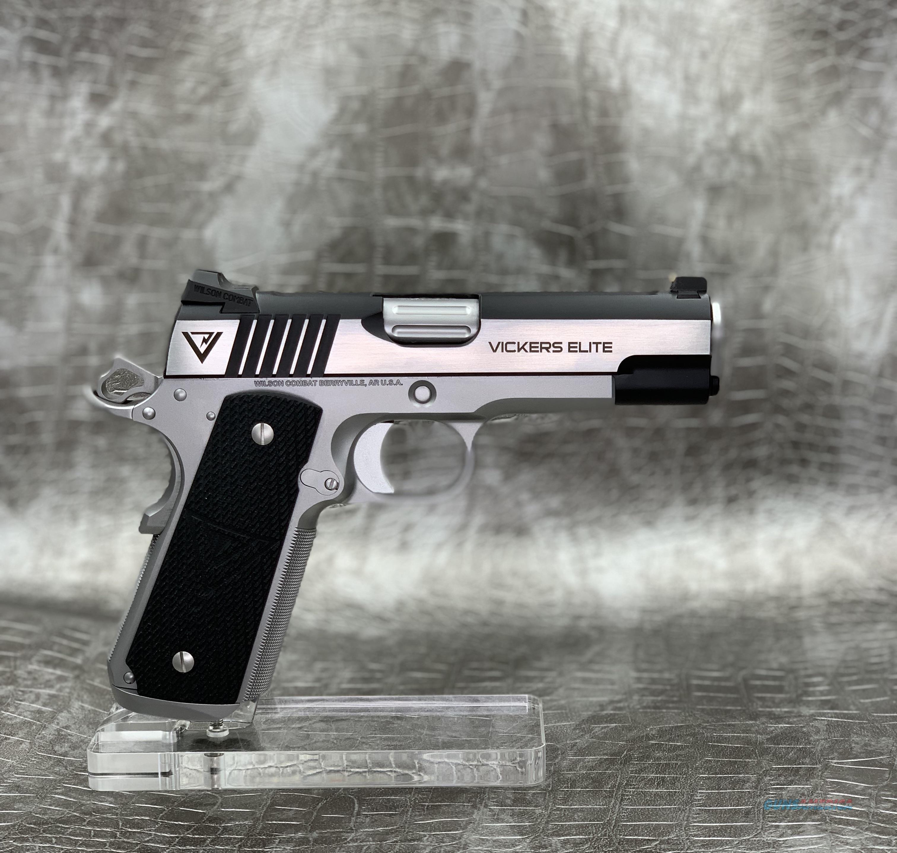 Wilson Combat Vicker's Elite Commander 9MM  Guns > Pistols > Wilson Combat Pistols