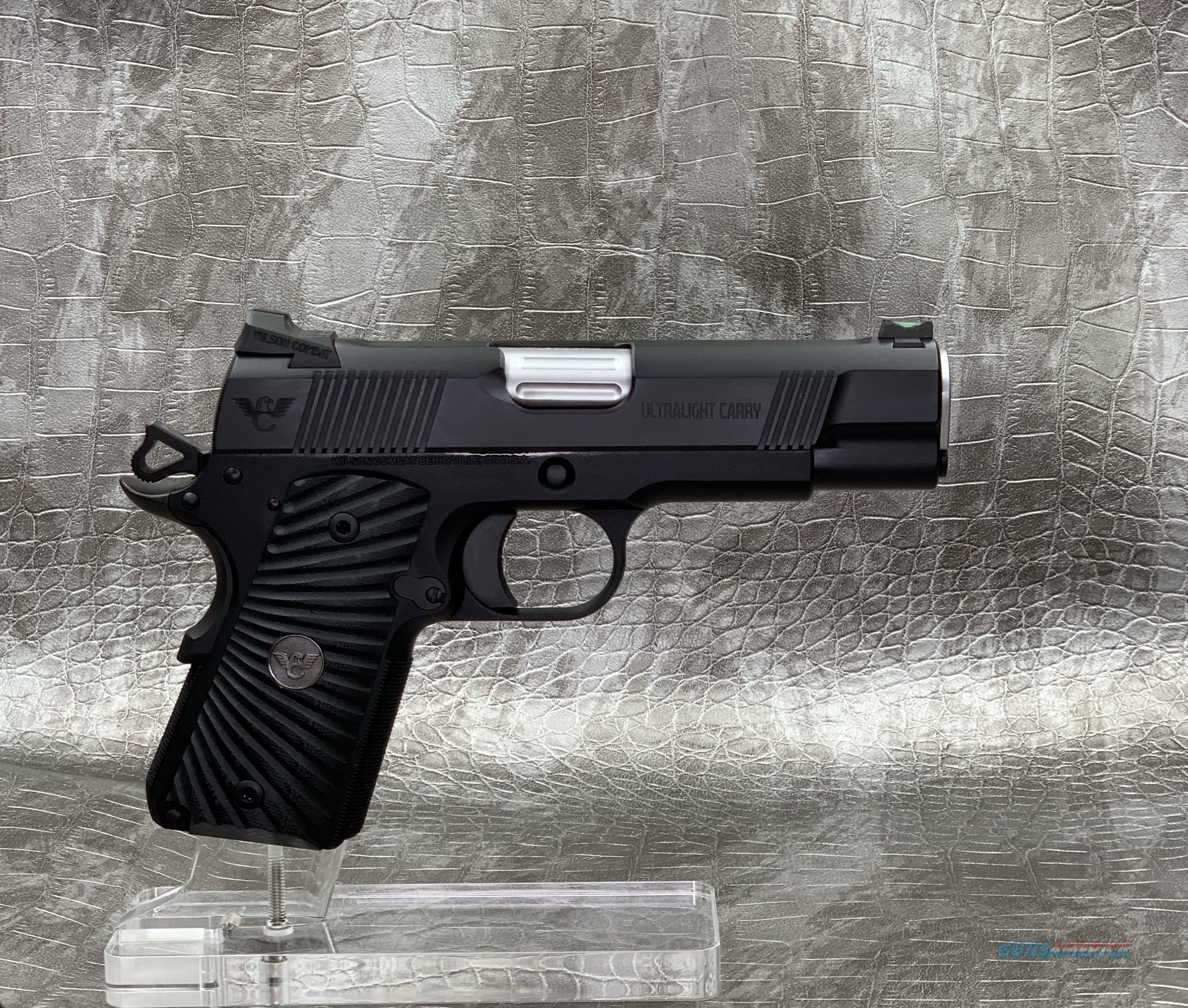 Wilson Combat Ultralight Carry Commander Compact 9MM  Guns > Pistols > Wilson Combat Pistols