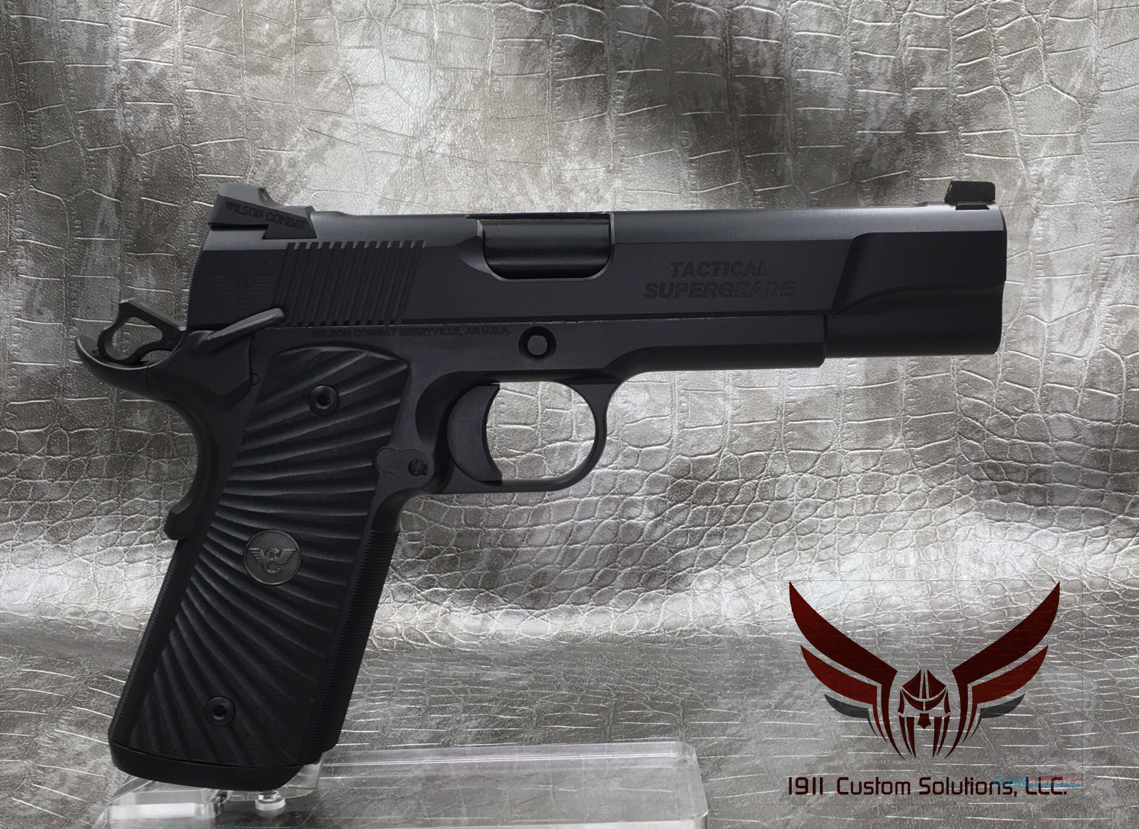 "Wilson Combat Tactical Supergrade 5"" .45acp - Full Custom Build  Guns > Pistols > Wilson Combat Pistols"