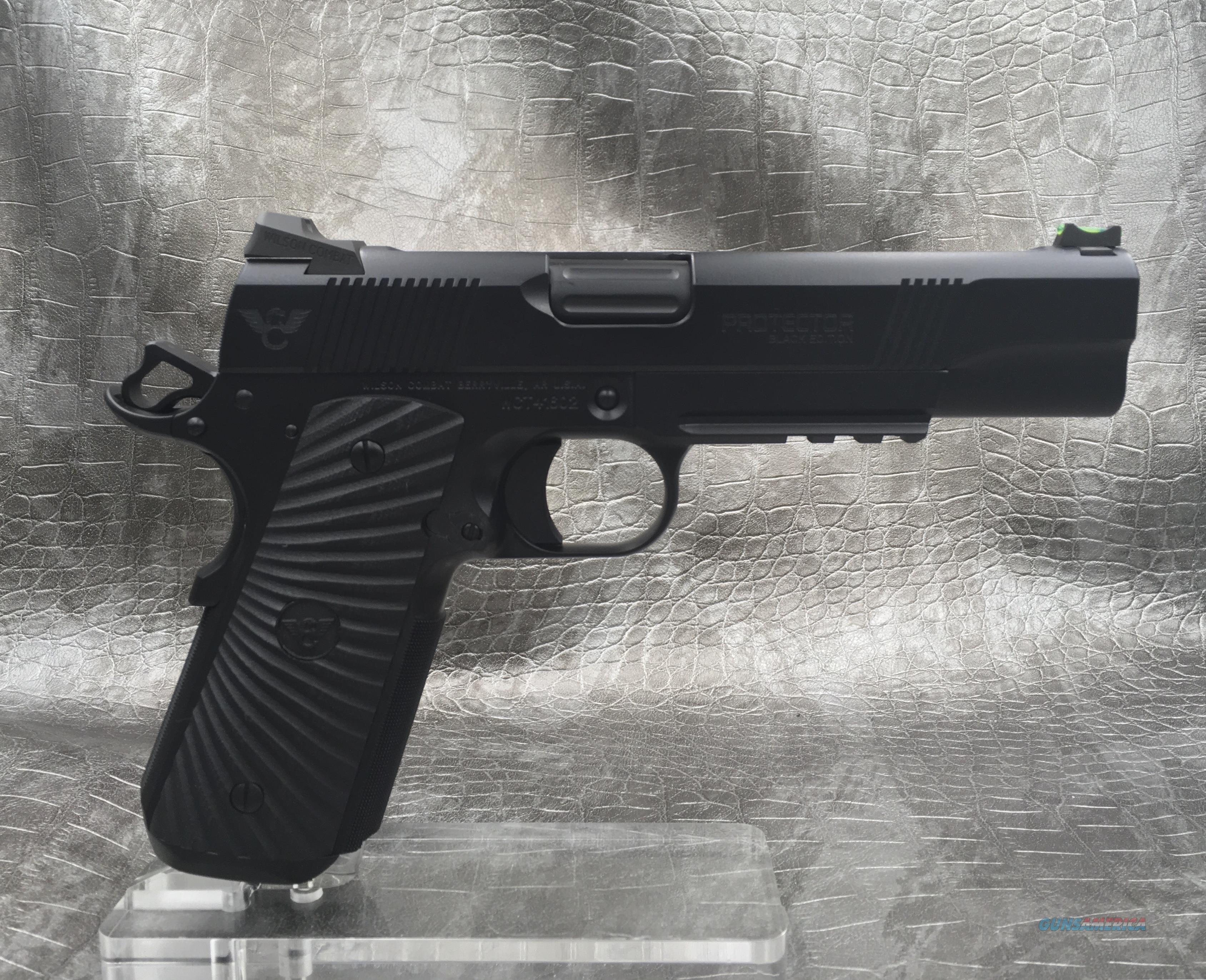 """Wilson Combat Protector II 5"""" 9MM - BLACK EDITION  Guns > Pistols > Wilson Combat Pistols"""