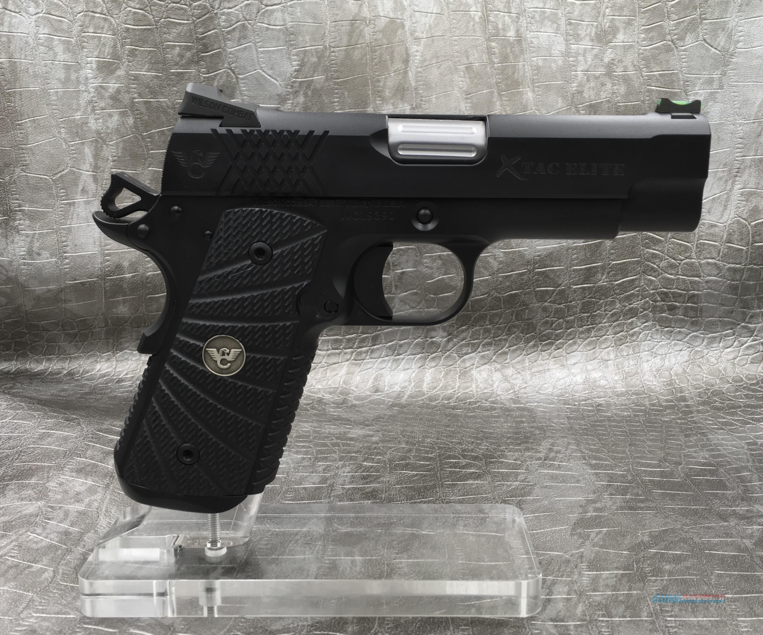 Wilson Combat XTAC Elite Compact 9MM  Guns > Pistols > Wilson Combat Pistols