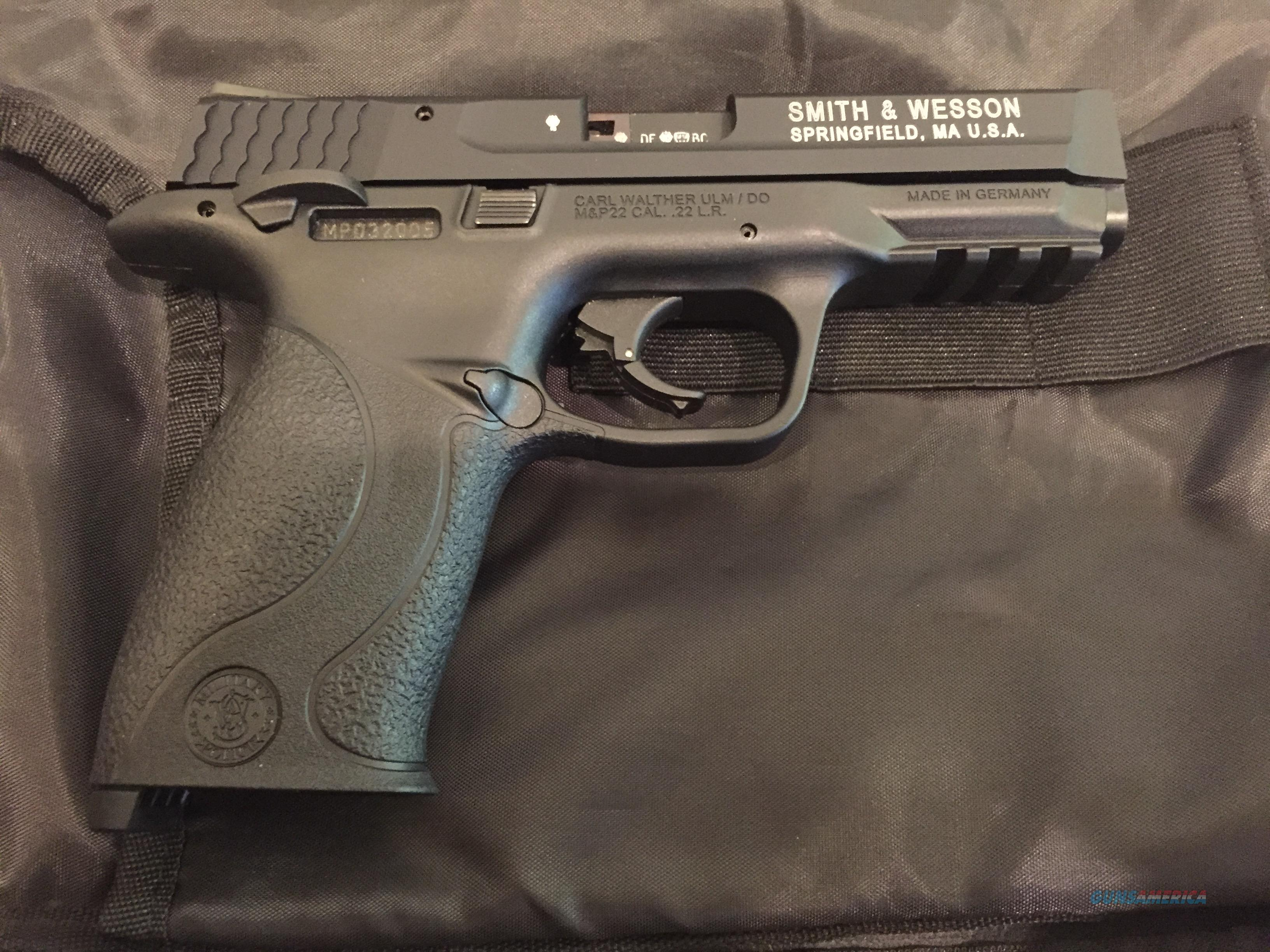 Smith and Wesson M&P 22  Guns > Pistols > Smith & Wesson Pistols - Autos > .22 Autos