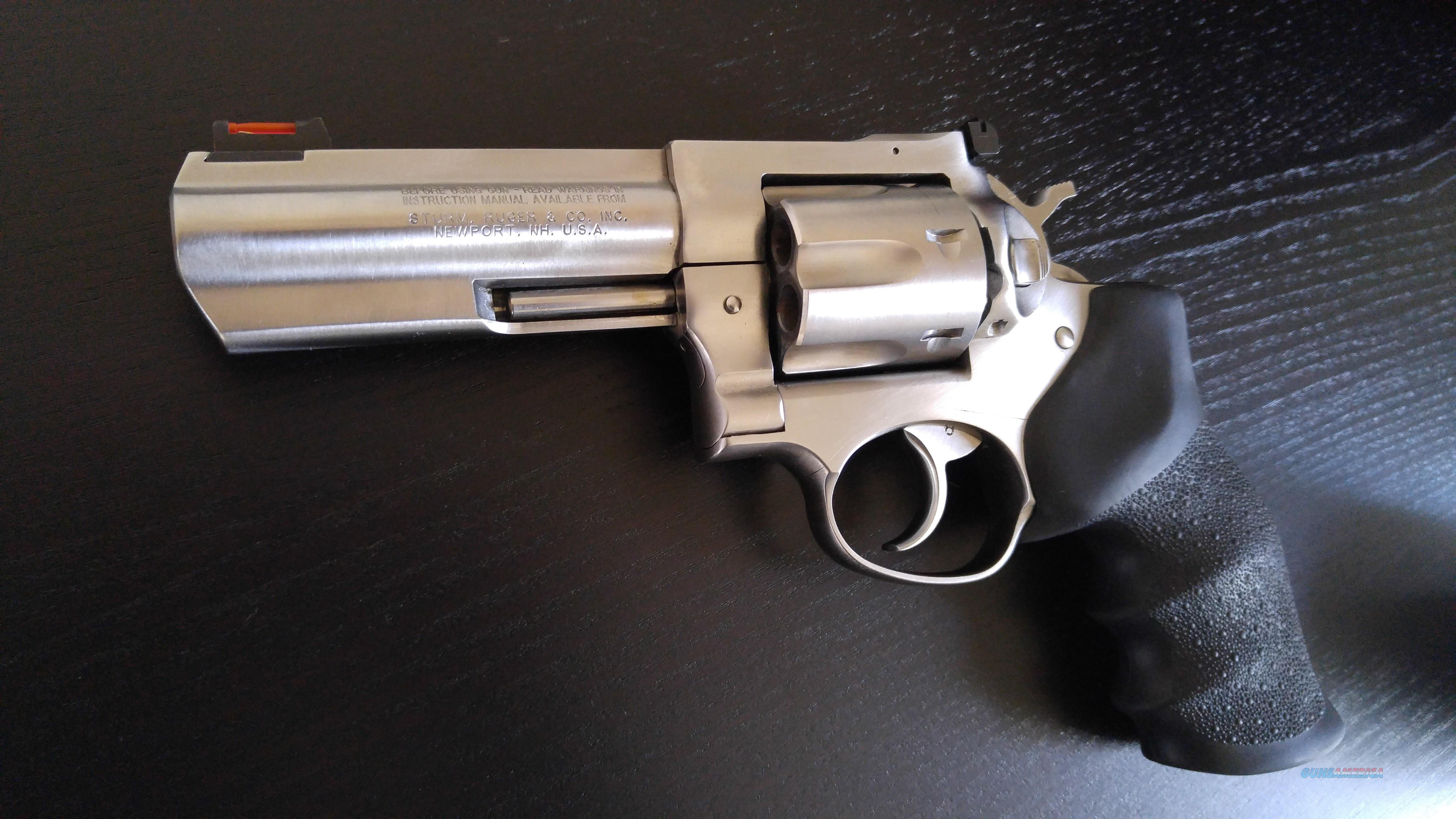 "Ruger GP100, 4.2""Stainless Steel Barrel, .357Magnum/.38Special, Hogue Grips  Guns > Pistols > Ruger Double Action Revolver > GP100"