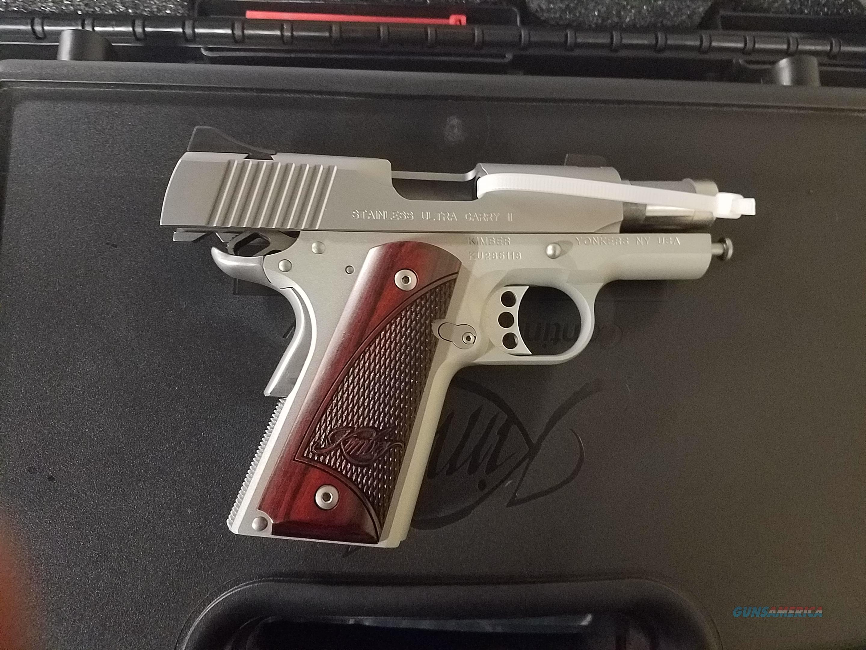 Kimber Ultra Carry ll  Guns > Pistols > Kimber of America Pistols
