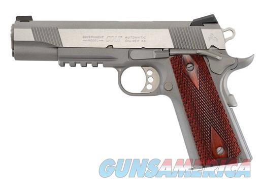 COLT XSE GOVERNMENT 45ACP SS RAIL 45 ACP  Guns > Pistols > Colt Automatic Pistols (1911 & Var)
