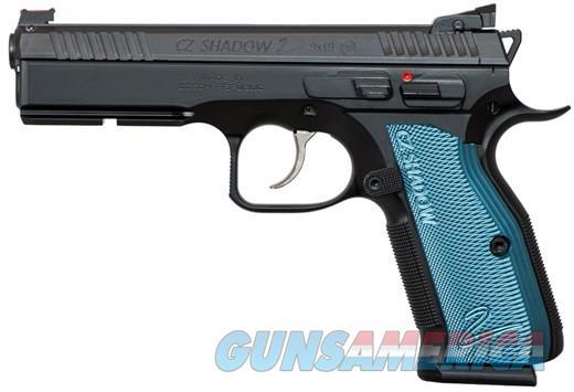 "CZ-USA 75 SHADOW 2 9MM 5.4"" BLUE GRIP   Guns > Pistols > CZ Pistols"