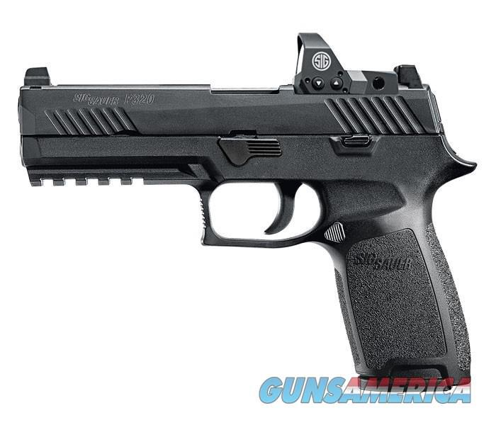 "SIG SAUER P320 RX FULL SIZE 9MM 4.7"" 17+1 WITH ROMEO 1 SIGHT  Guns > Pistols > Sig - Sauer/Sigarms Pistols > P320"