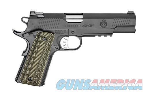"SPRINGFIELD 1911 10MM TRP OPER 5"" BK NS NIGHT SIGHTS | RANGE BAG  Guns > Pistols > Springfield Armory Pistols > 1911 Type"