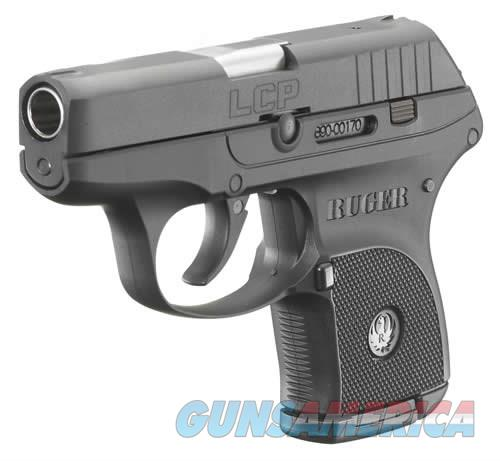 RUGER LCP 380 ACP BL/POLYMER 6+1  Guns > Pistols > Ruger Semi-Auto Pistols > LCP