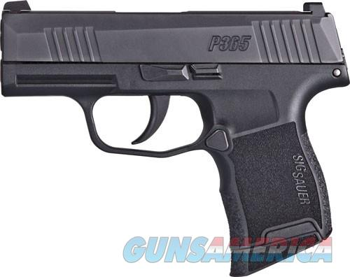 "SIG SAUER P365 9MM 3.1"" X-RAY 3 DAY/ NIGHT SIGHT 10-SH BLACK POLYMR  Guns > Pistols > Sig - Sauer/Sigarms Pistols > P365"