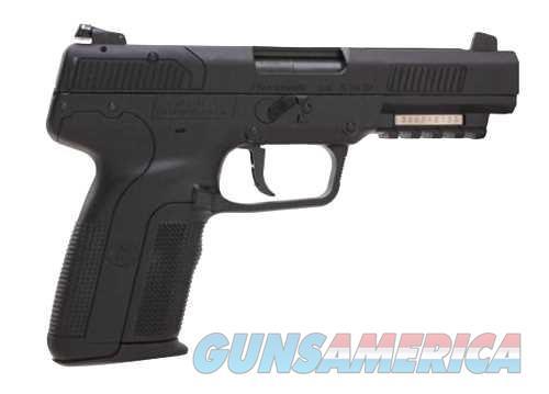 FN FIVE-SEVEN 5.7X28 BLK 20+1 AS 3-20RD MAGS | ACCESSORY RAIL  Guns > Pistols > FNH - Fabrique Nationale (FN) Pistols > FiveSeven
