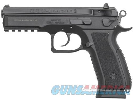 CZ 75 SP-01 PHANTOM 9MM BLK 18+1 POLYMER FRAME | DECOCKER  Guns > Pistols > CZ Pistols