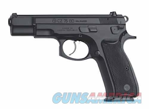 "CZ 75BD 9MM BLACK 4.7"" 10+1 FS  Guns > Pistols > CZ Pistols"