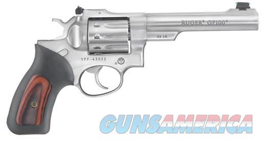 "RUGER GP100 22LR 10SH 5.5"" DA AS SS 1757  Guns > Pistols > Ruger Double Action Revolver > GP100"