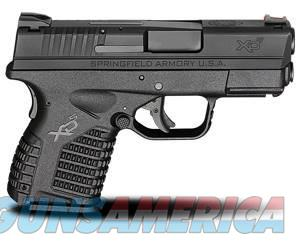"Springfield Armory SF XDS ESSENTIALS .45ACP 4"" FS 5+1 BLACK/BLACK XDS94045BE  Guns > Pistols > Springfield Armory Pistols > XD-S"