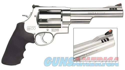 Smith and Wesson 500 500 S&W Magnum 163565  Guns > Pistols > Smith & Wesson Revolvers > Full Frame Revolver