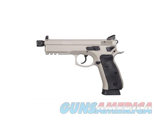 CZ 75 SP-01 TACT 9MM GREY 18+1 NS  Guns > Pistols > CZ Pistols