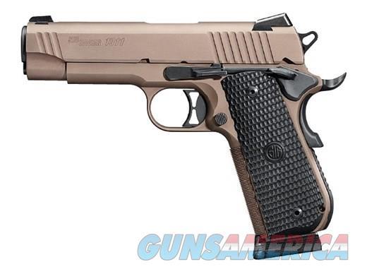 SIG SAUER 1911 EMP SCORPION 45ACP FDE 1911FTCA-45-ESCPN | FASTBACK 45 ACP  Guns > Pistols > Sig - Sauer/Sigarms Pistols > 1911