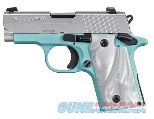 SIG SAUER P238 380ACP SS/ROBINS EGG BLUE  Guns > Pistols > Sig - Sauer/Sigarms Pistols > P238