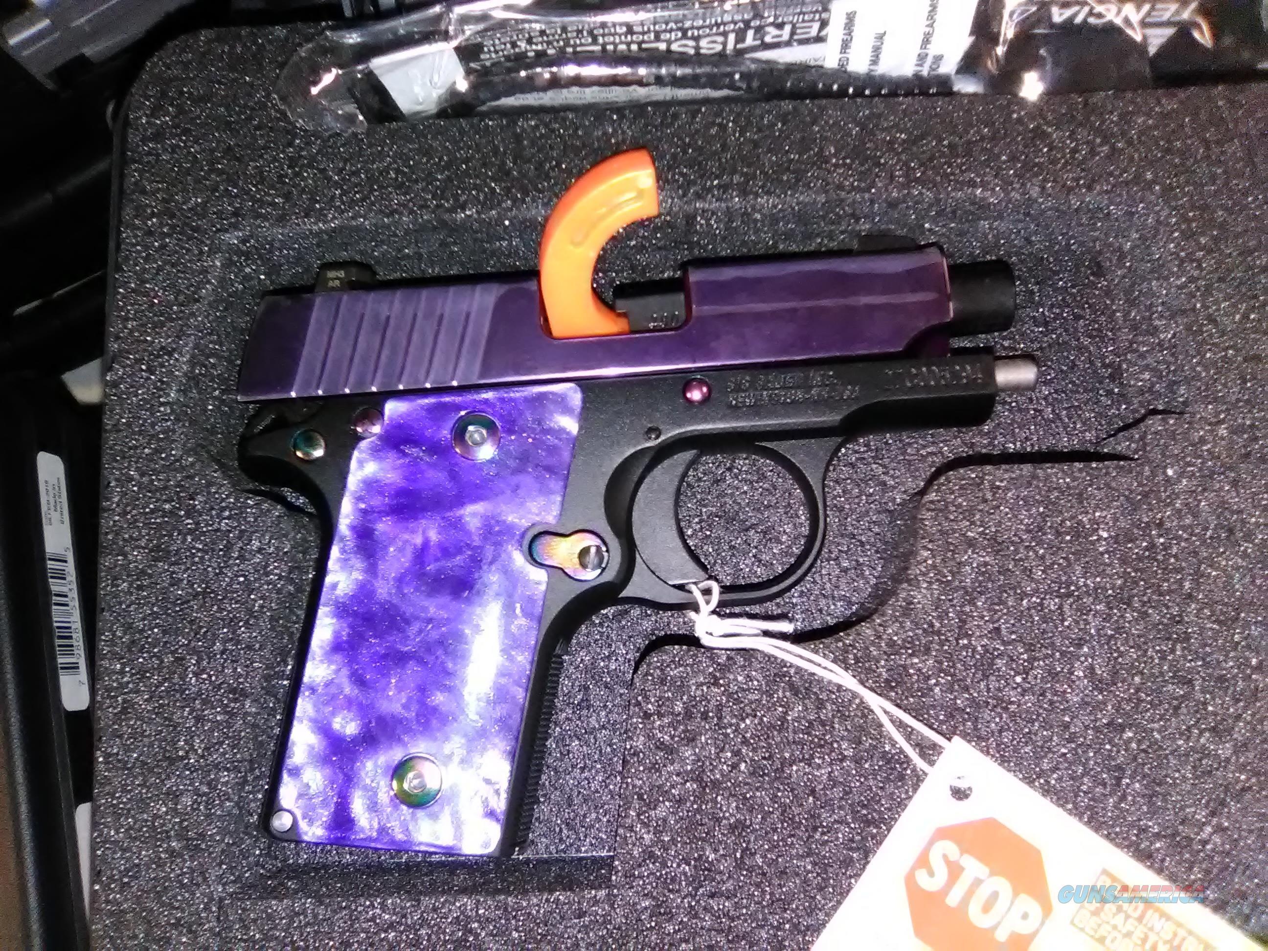 SIG SAUER P238 380ACP PURPLE SLITE 238-380-PSP  Guns > Pistols > Sig - Sauer/Sigarms Pistols > P238