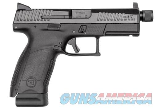 CZ P-10 CMPCT 9MM BLK/BLK 17+1 TB SUPPRESSOR READY  Guns > Pistols > CZ Pistols