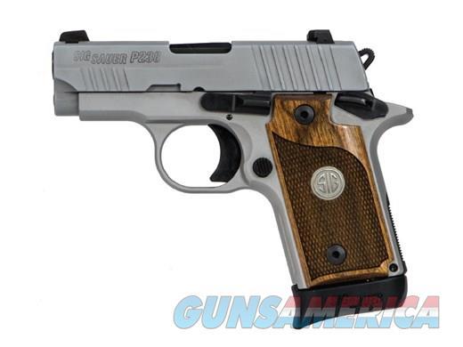 SIG SAUER P238 ASE 380ACP SS/WALNUT 7+1  Guns > Pistols > Sig - Sauer/Sigarms Pistols > P238