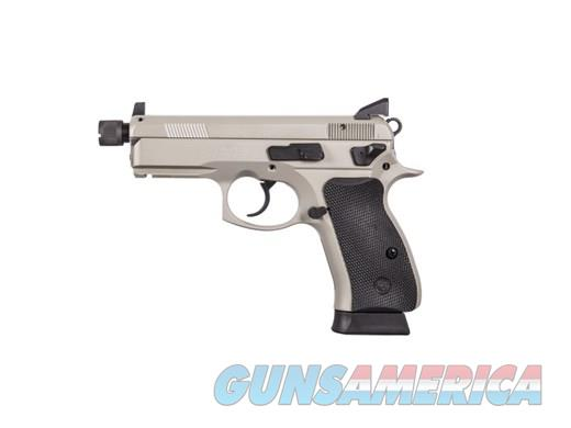 CZ P-01 OMEGA 9MM GREY 14+1 NS ACCESSORY RAIL | 2 MAGAZINES  Guns > Pistols > CZ Pistols