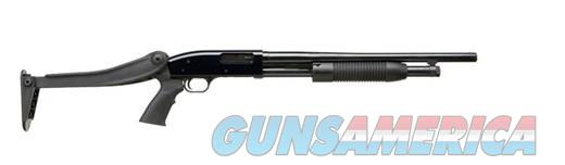 MOSSBERG MAVERICK 88 PUMP 12/18.5 FOLD 88 SECURITY| ATI FOLDING STOCK  Guns > Shotguns > Mossberg Shotguns > Pump > Tactical