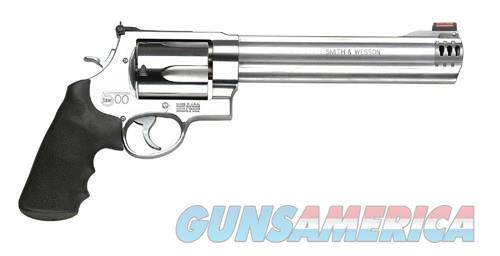 Smith and Wesson 500 500 S&W Magnum 163501  Guns > Pistols > Smith & Wesson Revolvers > Full Frame Revolver