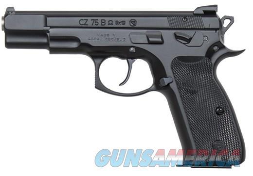 "CZ 75B OMEGA 9MM BLK 4.7"" 16+1 FS OMEGA TRIGGER SYSTEM  Guns > Pistols > CZ Pistols"