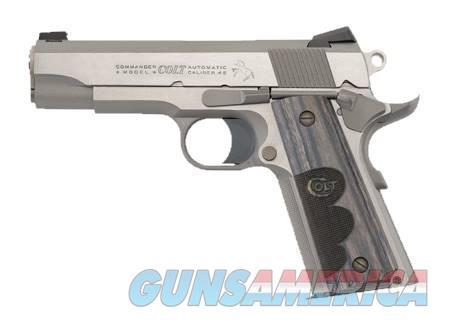 COLT TALO EXCLUSIVE WILEY CLAPP COMMANDER 45ACP SS  Guns > Pistols > Colt Automatic Pistols (1911 & Var)