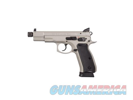 CZ 75B OMEGA 9MM GREY 16+1 THREAD OMEGA TRIGGER SYSTEM  Guns > Pistols > CZ Pistols
