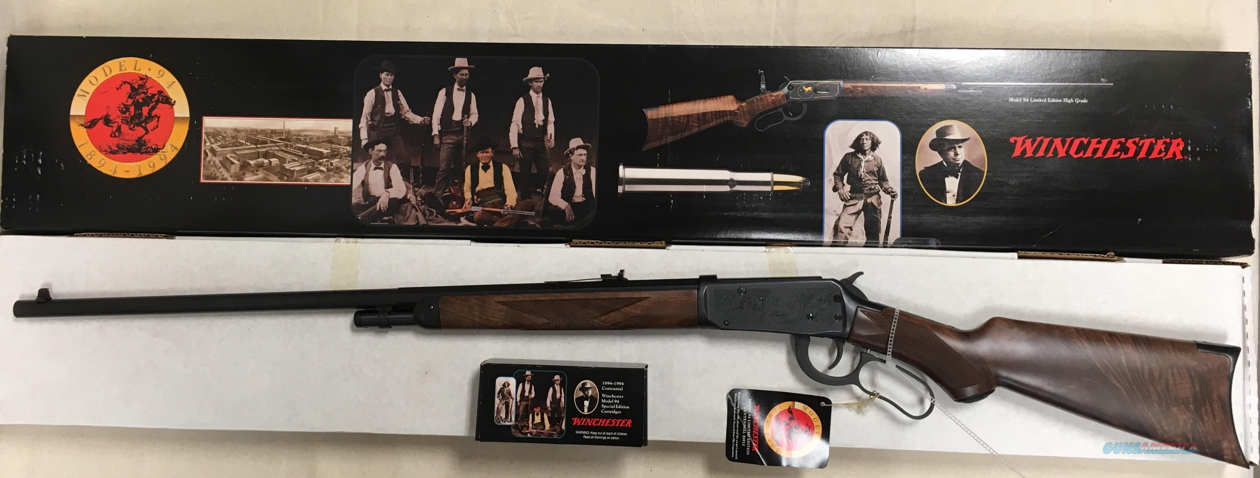 Winchester Grade I Limited Edition Centennial Rifle w/Box of Commemorative Box of Ammo  Guns > Rifles > Winchester Rifle Commemoratives